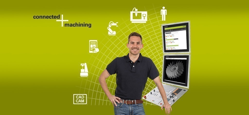 [Translate to es_ES:] Connected Machining – Intelligent vernetzt in der digitalen Fertigung